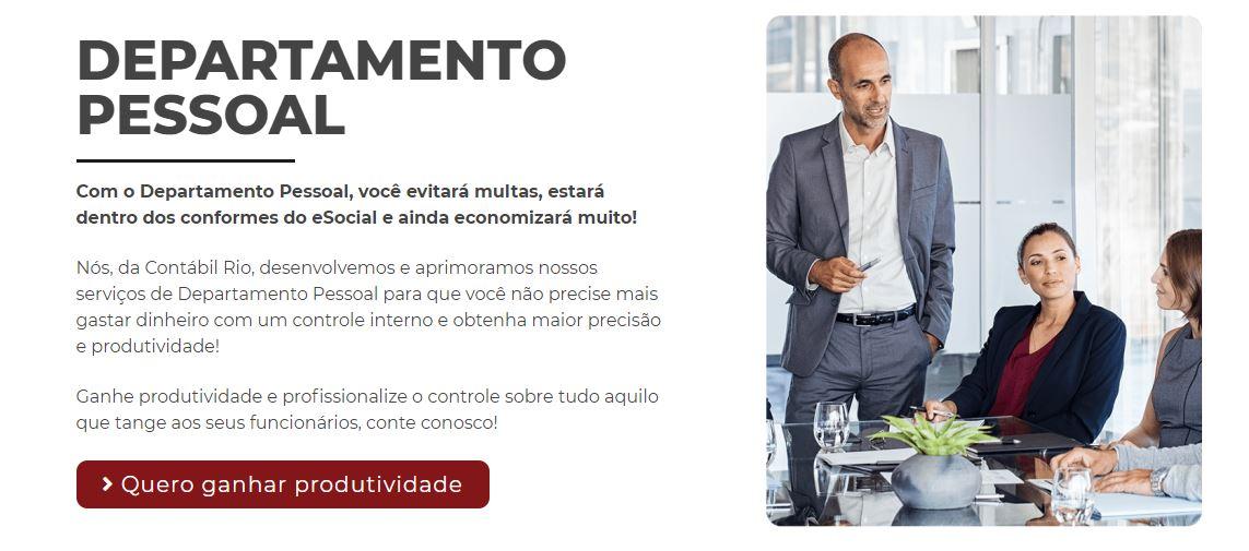 Departamento Pessoal - Contabilidade no Méier Rio de Janeiro - RJ | Contábil Rio